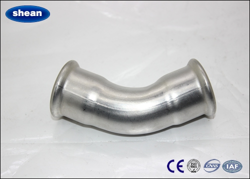 Elbow stainless steel press fittings 304 316 material