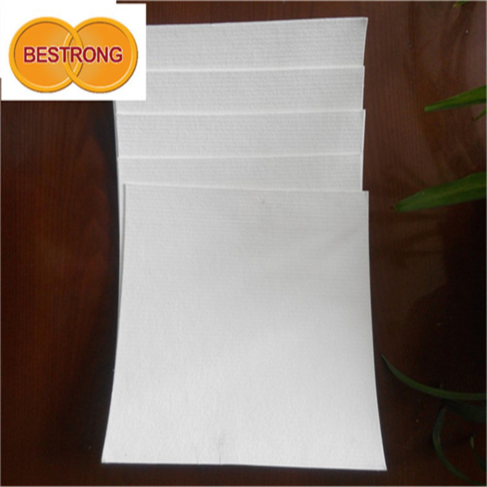 bleached reed pulp as sanitary paper
