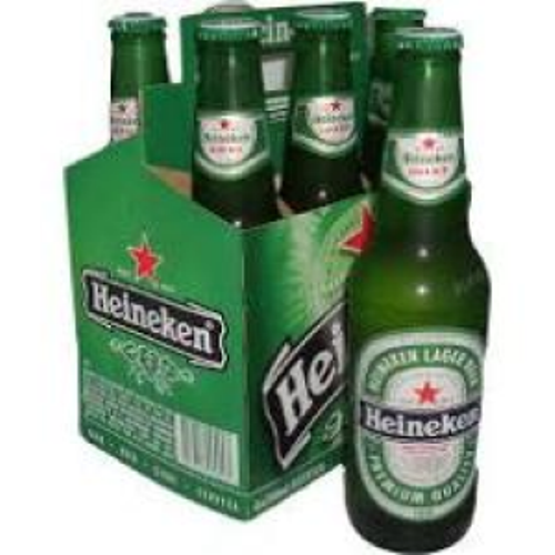 All sizes Heineken beer from Holland