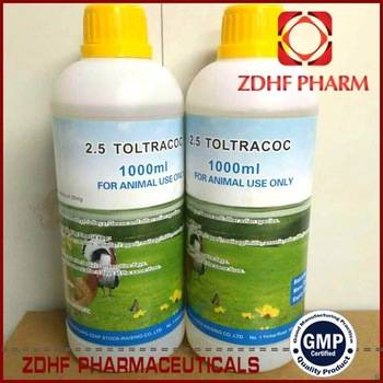 poultry coccidiosis treatment toltrazurol solution for chickens broiler
