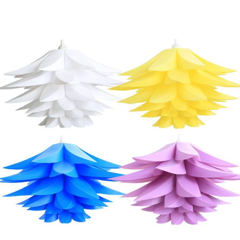 modern pp plastic pendant hotel DIY decorative lighting ceiling lamp