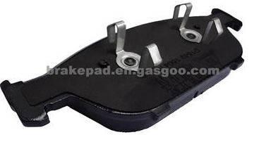 Less Metal Brake Pad For Audi A8L (D1549)