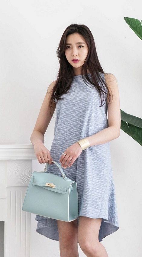 Summer New style High fashion latest design Short linen dress