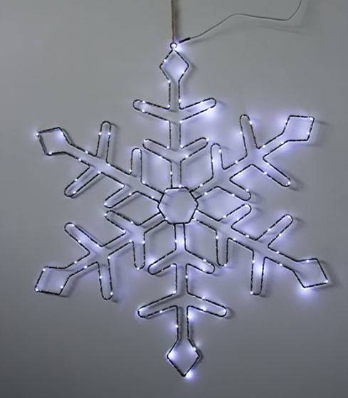 SMD snowflake wire form Wall Light KF67184