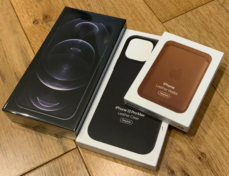 Apple iPhone 12 Pro Max - 256 GB - Gold (Unlocked) - New Sealed