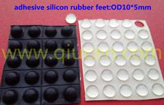 Self-Adhesive Rubber Feet Clear Bumper Door Furniture Pad Floor Protector
