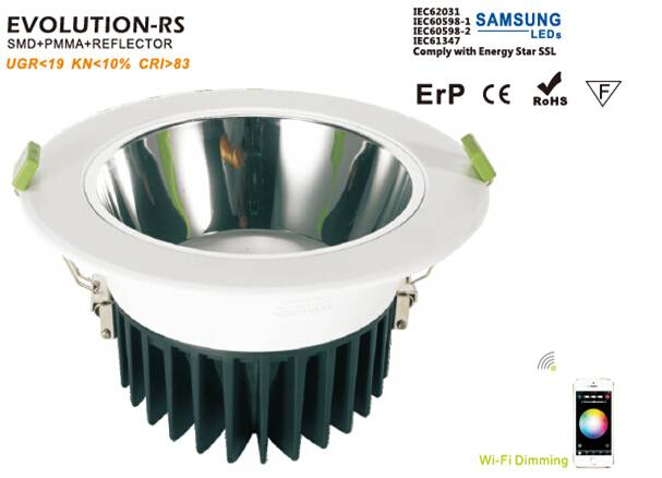 IP22 16w led down light 4/6/8 inch