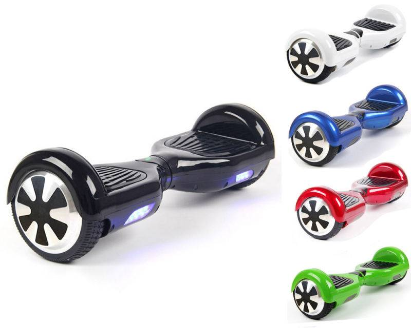 "6.5"" Two Wheel Smart Electrical Self Balancing Scooter with Light"