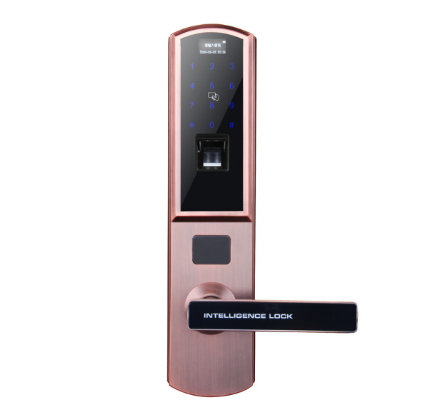 Waterproof Fingerprint Biometric Password Qr Code Door Locks
