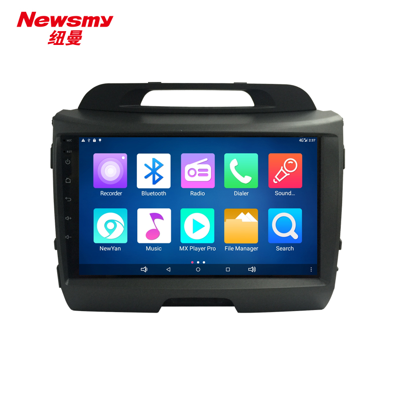 NM9057-H-H0 (KIA SportageR 11-16) no canbus Newsmy CarPad4 head unit Android 5.0 with Newyan APP