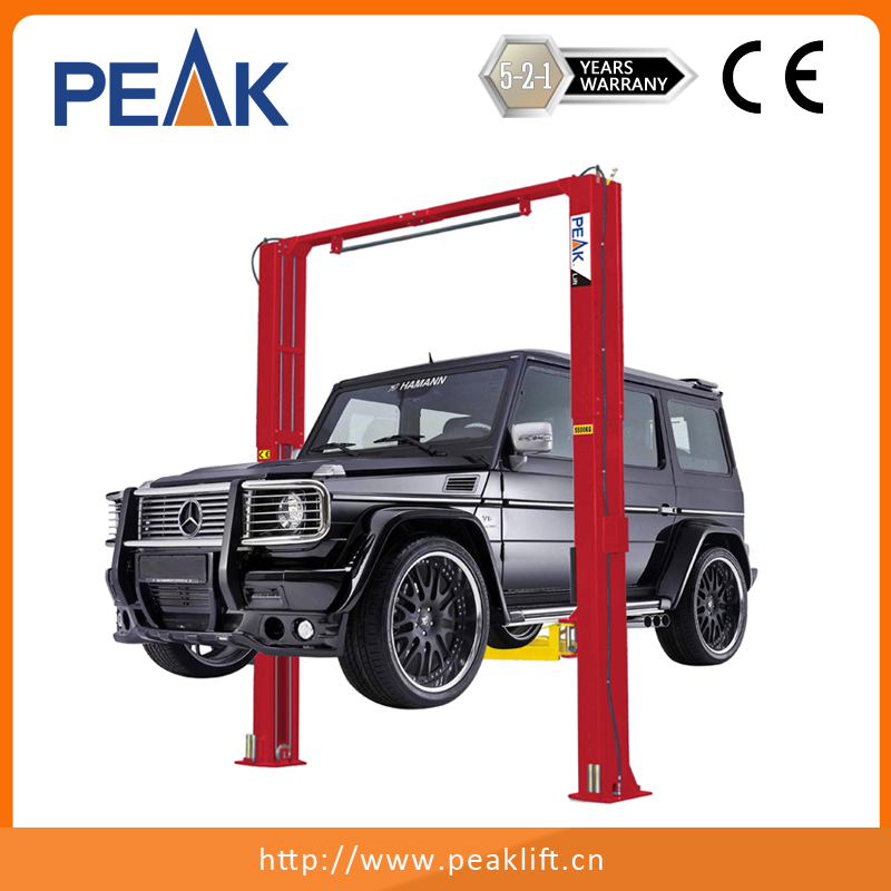 Clearfloor Chain-Drived Two Post Car Lift (208C)