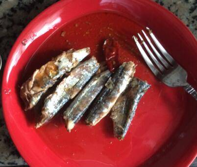 Chili Sardine in Oil, Sardine in Chili Oil, Sardine in Oil with red pepper