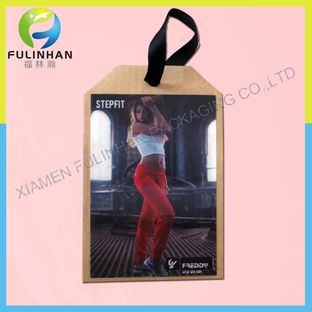 PET 3D Lenticular Hangtag for Clothing