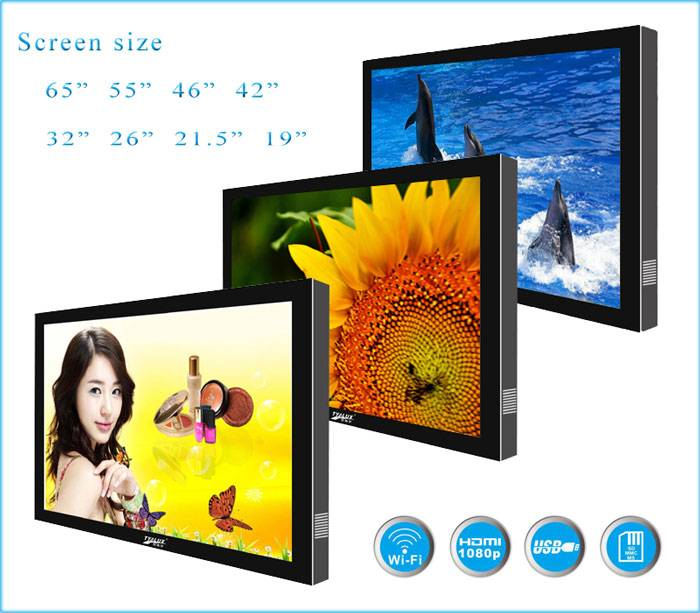 "42"" Wall-mount android HD Digital Advertising Display"