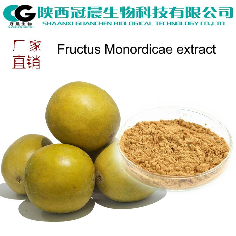 GMP Factory Fructus Monordicae Extract with Mogroside V