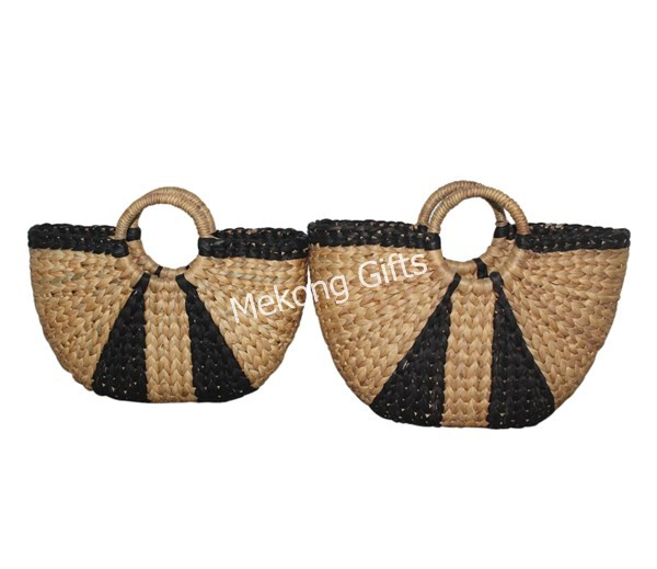 Water hyacinth handbags