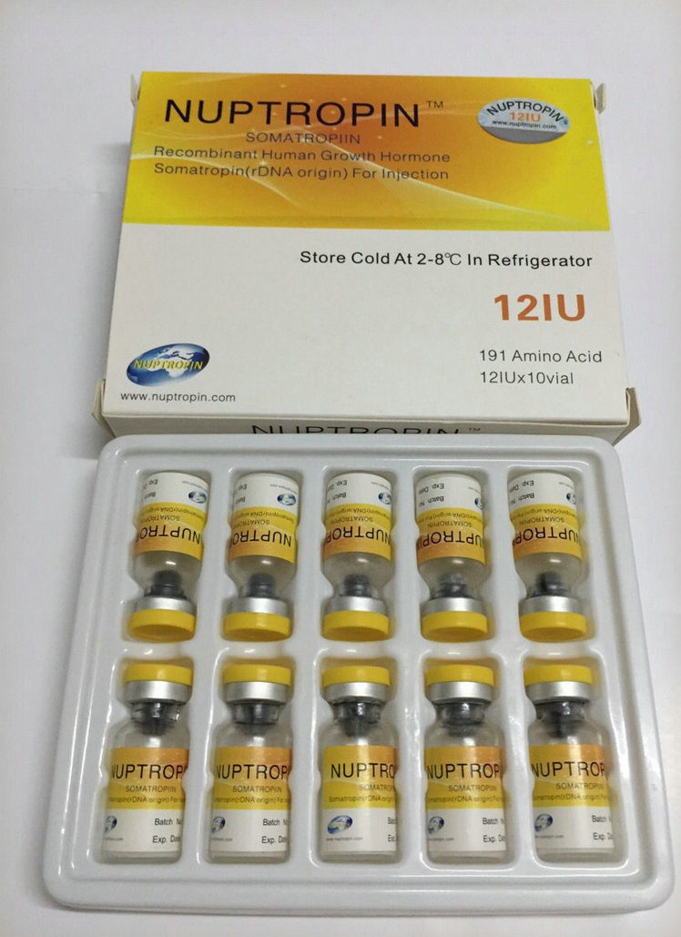 Original NUPTROPIN HGH with Anti-fake code, factory price with large quantity