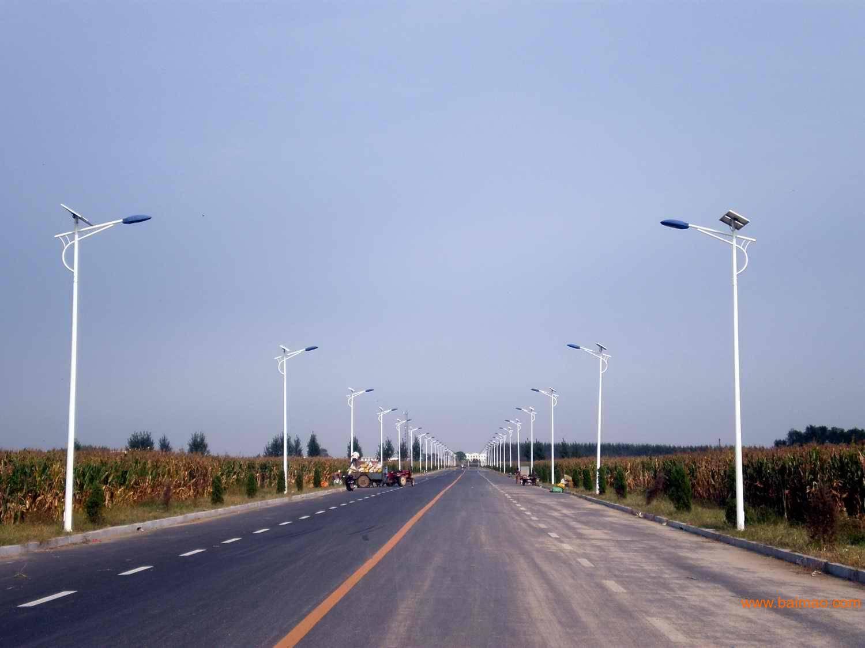 5M 15Watt solar street lights Bent arm lamp standard version of solar LED street lamp