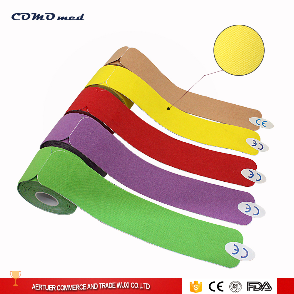 precut kinesiology tape strips detatchable kinds shapes Neck foot protection
