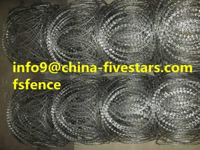 razor barbed wire made in china  razor wire