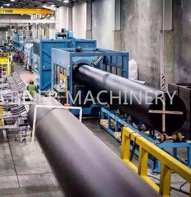 Water/Gas supply/HDPE pipe extrusion line (plastic pipe machine)