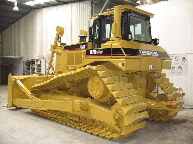 new unused CAT dozer D7R i130003 EIJH db40121