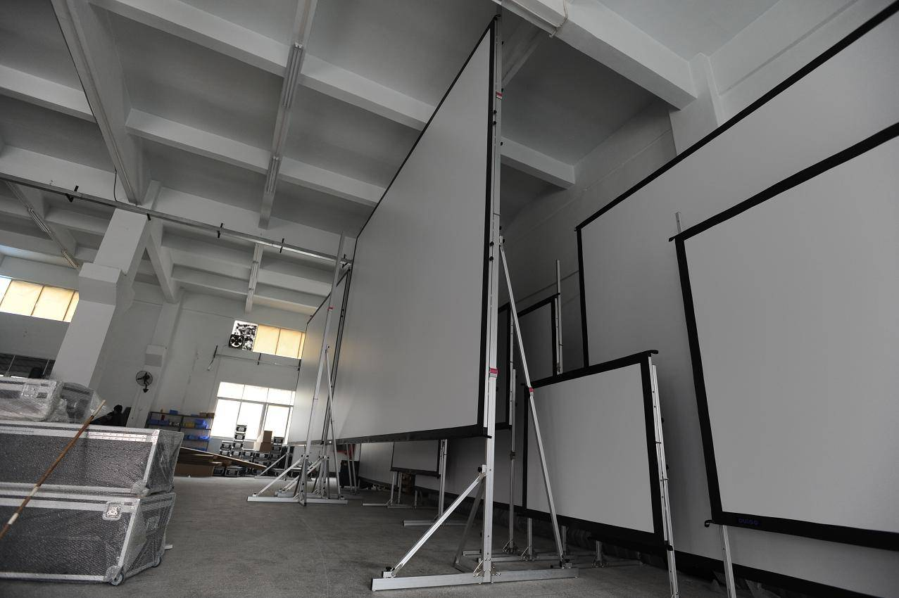 fast folding projector screen and 300 inch projector screen