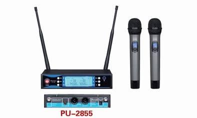 PU-2855 Sync IR UHF Wireless Microphone