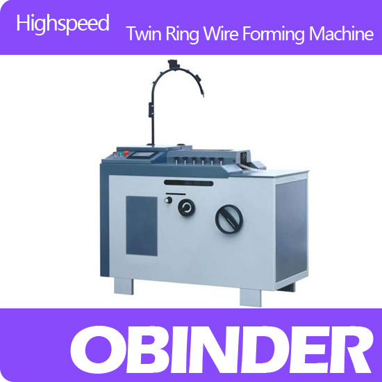 Obinder OBFJ1300 Twin Ring Wire Forming Machine