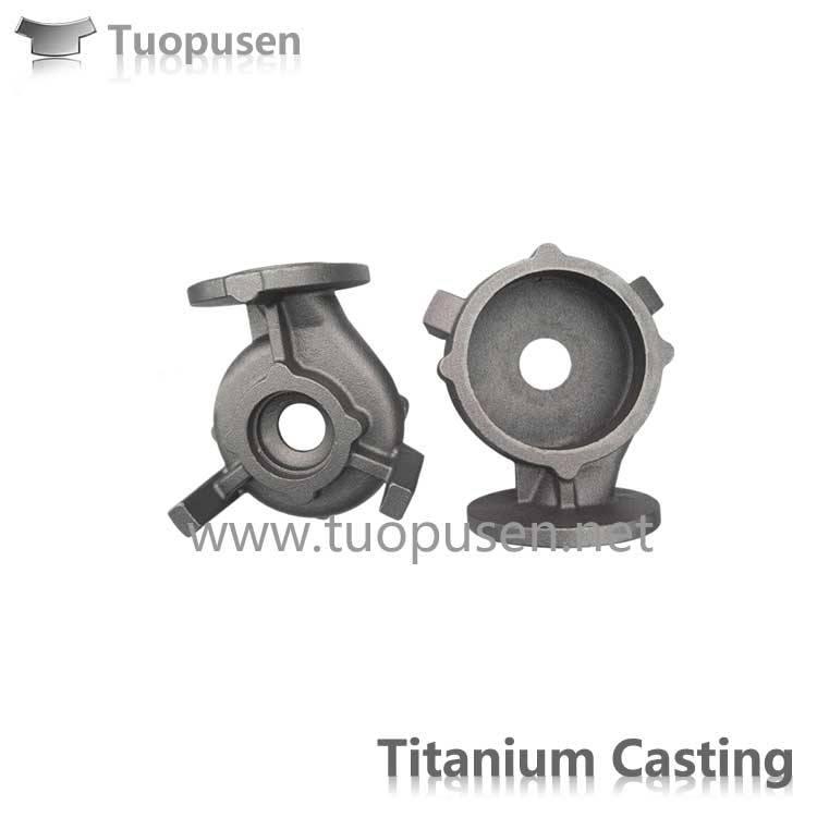 Titanium Pumps in China Titanium investment casting
