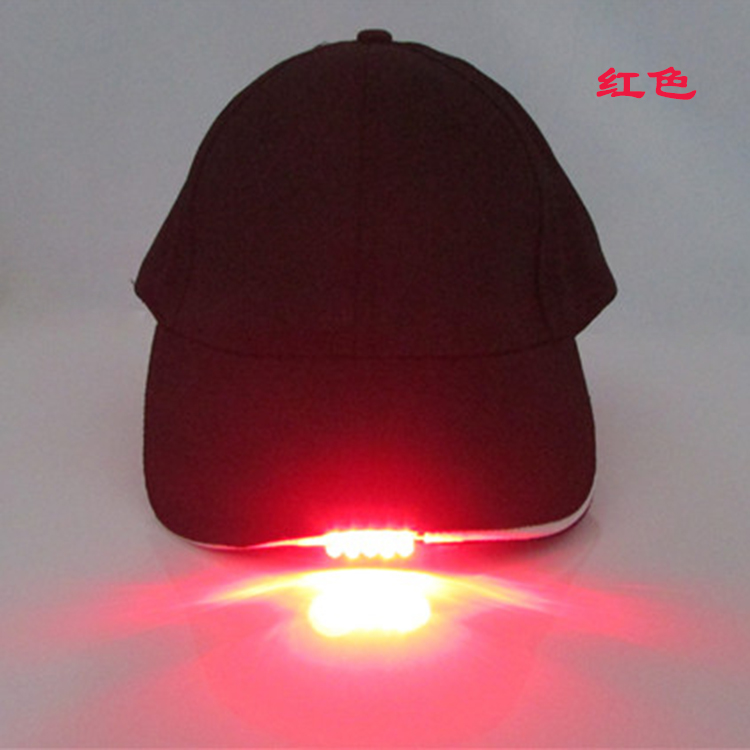 Best Promotion LED Gifts Colorful LED Cap For Decoration