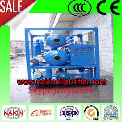 ZYD Insulating Oil Purifier Double Stages Vacuum Oil Treatment Equipment