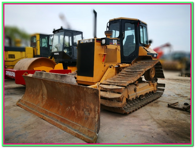used Caterpillar crawler bulldozer D5M LGP good quality for cheap hot