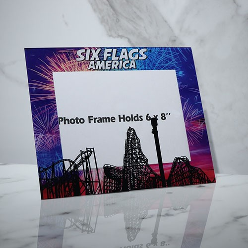 Acrylic photo frame table studio glass plastic 6 7 inch creative picture frame children magnetic photo frame manufacturers wholesale