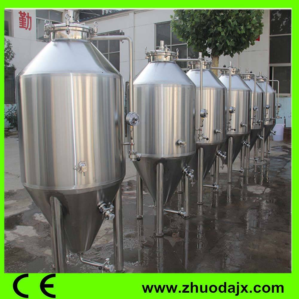 High Quality China SS304 conical fermenting tank Small Factory or Restaurant
