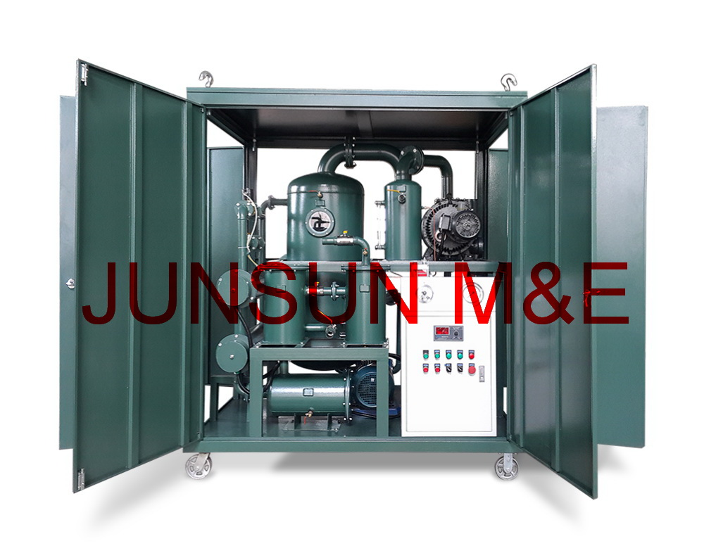 6000 Liters/Hour Transformer Oil Purifier, Dielectric Oil Filtration Plant, Insulation Oil Treatment