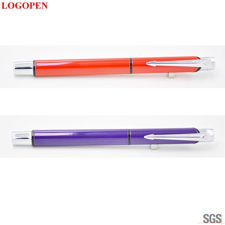 Ball pen printing Logo pen engraved &silk screen pen