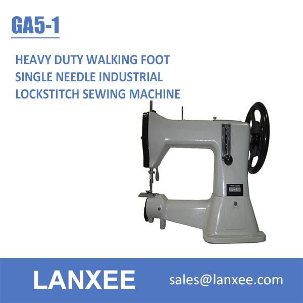 Lanxee GA5-1 cylinder bed heavy duty walking foot sewing machine