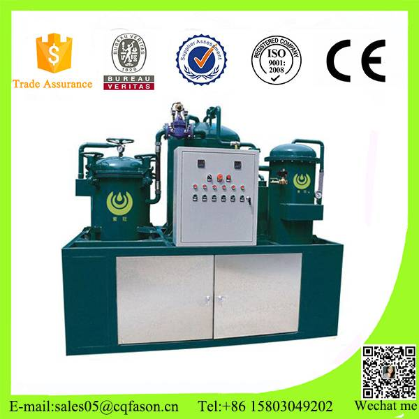 China Advanced Technology Filter Free used motor oil recycling machines