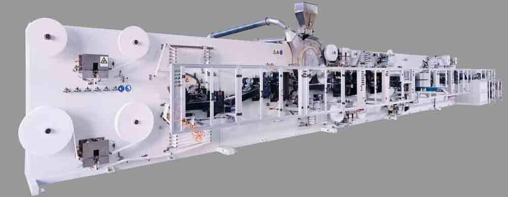 Lady Napkin Machine