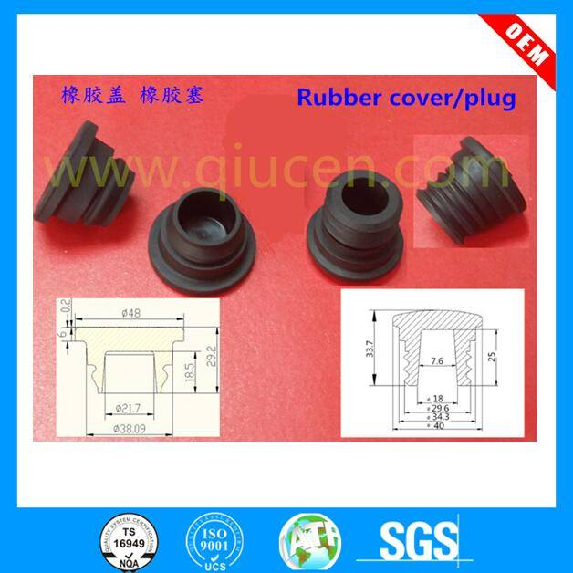 custom made high quality rubber pipe end cap pvc pipe fitting end cap chair leg caps