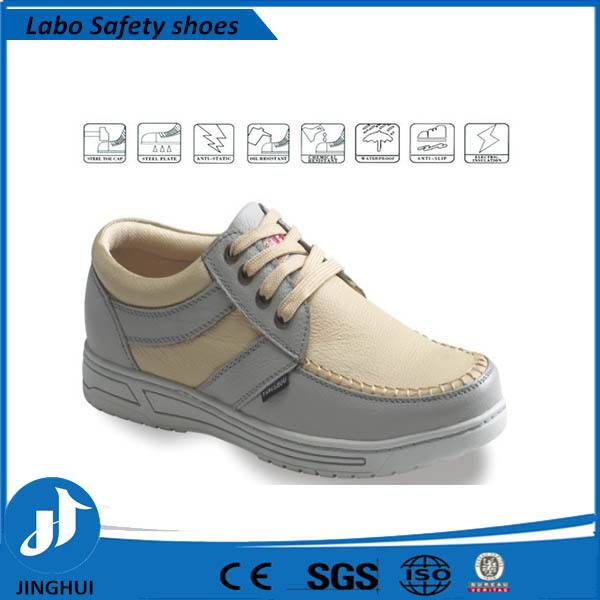 Shanghai men leather shoes factory working shoes and safety shoes