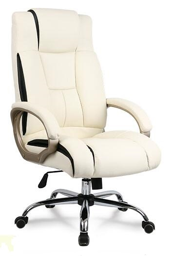 M&C Good sale black synthetic leather no folded paid samples executive chair