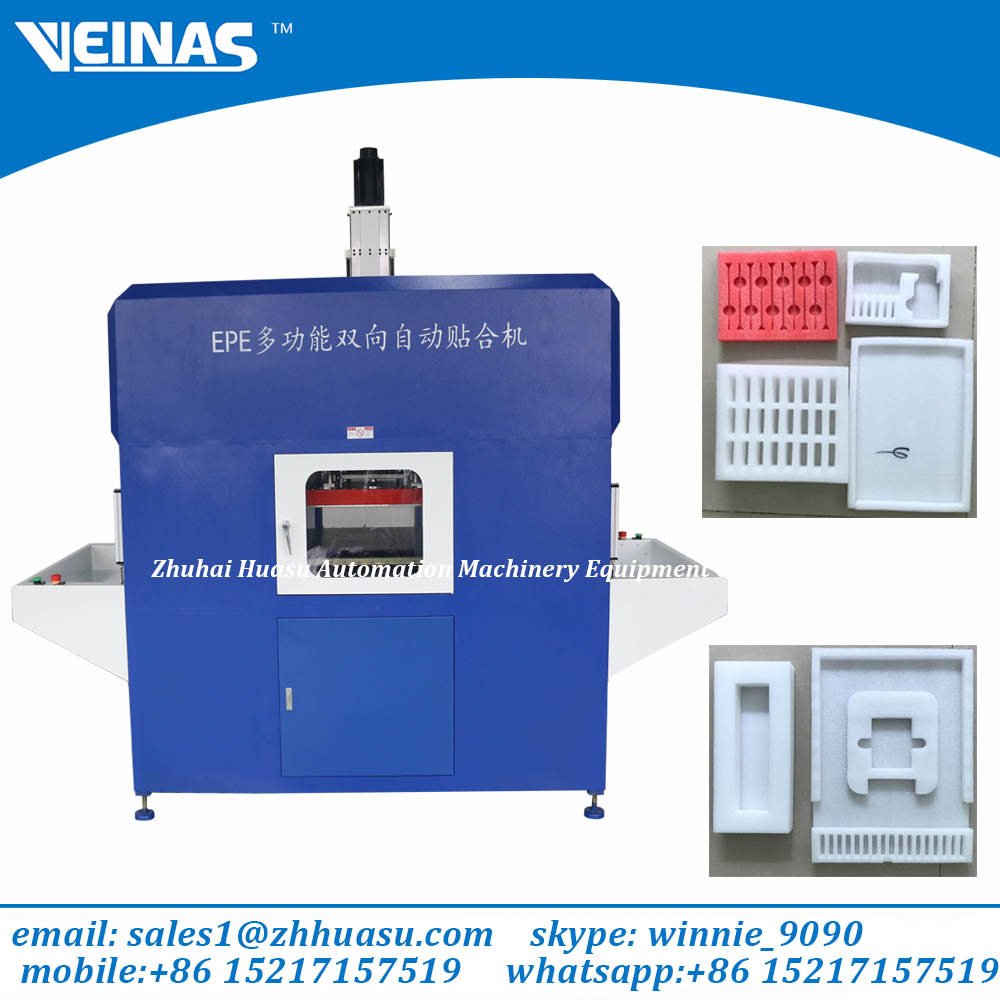 Expanded Polyethylene Foam bonding machine/laminating machinery