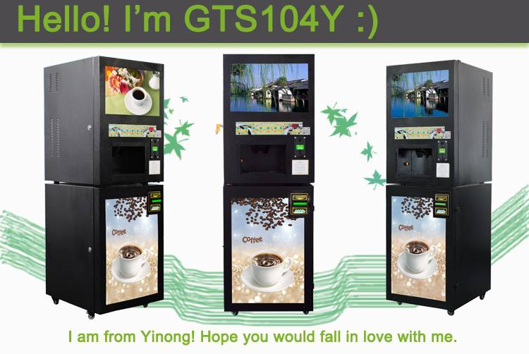 Yinong Full Auto Hot & Chilled Beverage Vending Machine