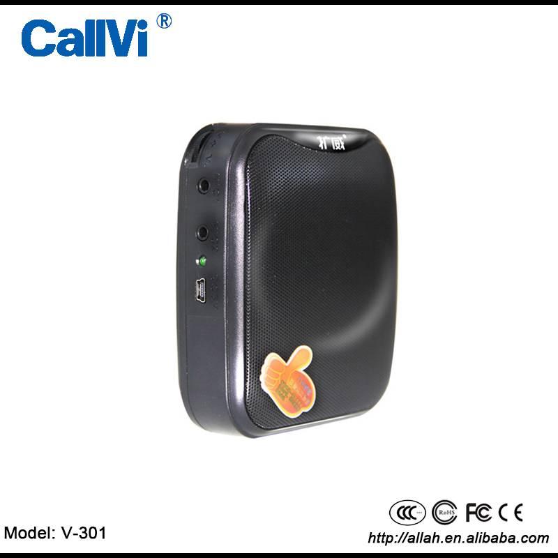 light weight Double microphone Mini portable voice amplifier cheapest 1500mah professional loudspeak