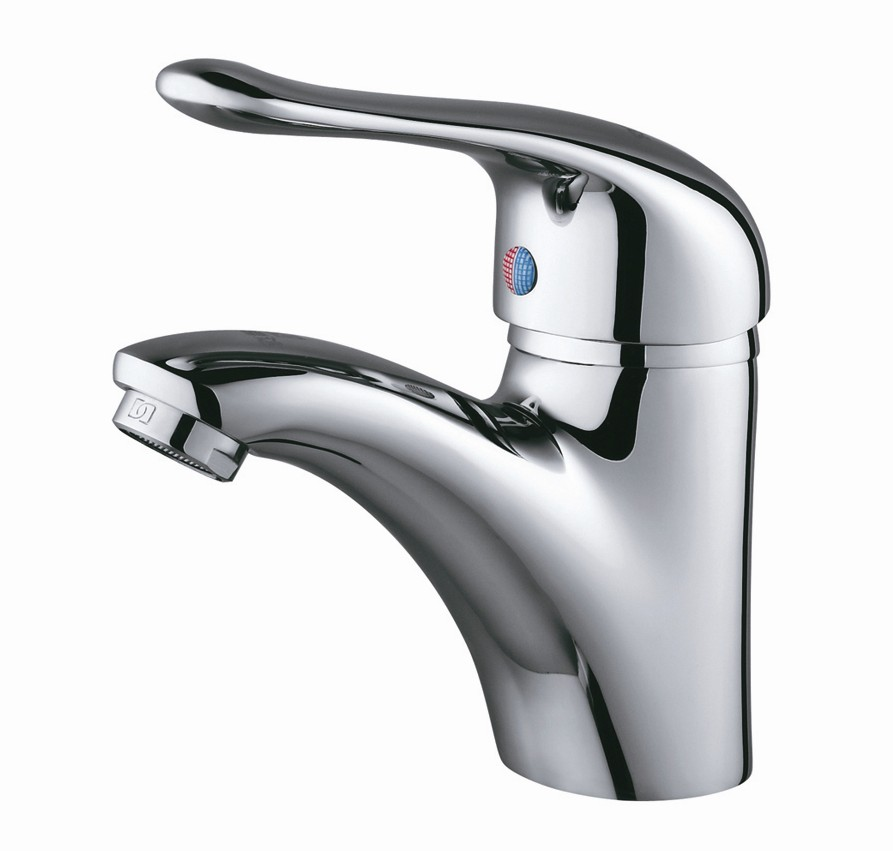 Single Handle and Hole Bathroom Sink Faucet  LD12106