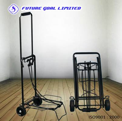 Metal Luggage Trolley / Shopping Trolley / Foldable Luggage Cart