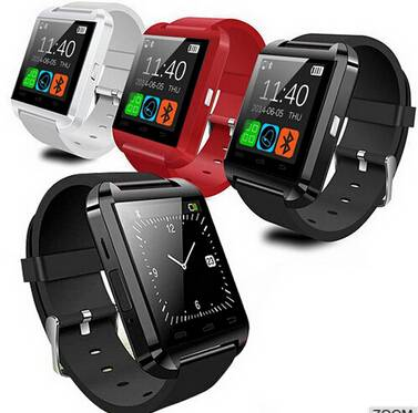 2015 Hot Selling Cheap Bluetooth Smart Watch U8 With Touch Screen and Multi Language