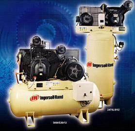INGERSOLL-RAND Reciprocating Air Compressor